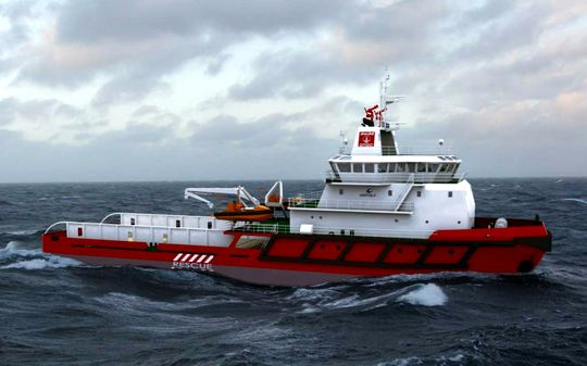 ONGC Rescue Boat